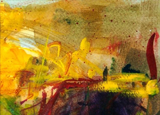 Yellow Silence G Steponenaite 2014