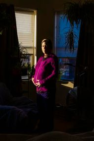 "Lily Mayfield; 29 Weeks; Archival Inkjet Print; 16"" x 24""; Starting Bid $225.00"