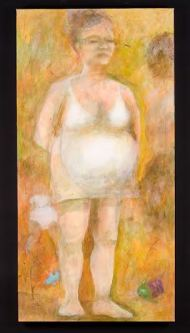 """Tracy Ostmann Haschke; All I Dreamed It Would Be; Acrylic on Canvas; 24"""" x 28""""; Starting Bid $600.00"""