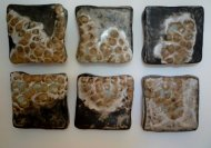 "Gina Lee Robbins; Migration; Stoneware Glaze Fired; 18"" x 24"" x 2""; Starting Bid $275.00"