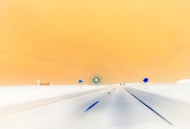 "Adriana Poterash; Road #2; Photograph; 11"" x 14""; Starting Bid $200.00"