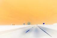 "Adriana Poterash; Road #2; Photograph; 11"" x 14""; Starting Bid $200.00"